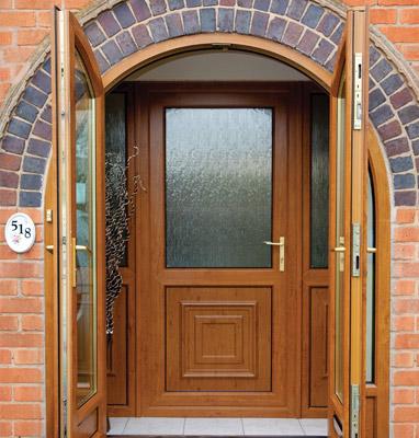Upvc Panel Front Back Doors Modglass Sheffield